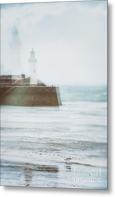 Lighthouse Metal Print by Amanda Elwell