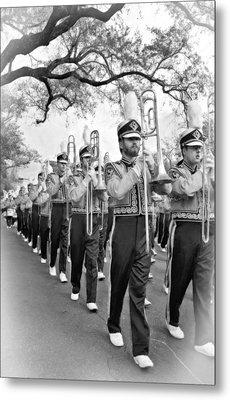 Lsu Marching Band Vignette Metal Print by Steve Harrington