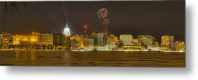 Madison New Years Eve Metal Print