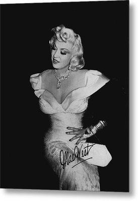 Mae West Metal Print