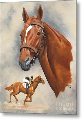 Man O'war Metal Print
