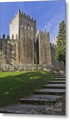 Medieval Castle Keep Metal Print