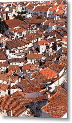 Medieval Town Rooftops Metal Print by Jose Elias - Sofia Pereira