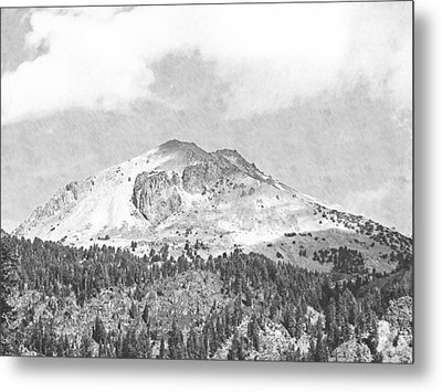 Mount Lassen Metal Print by Frank Wilson
