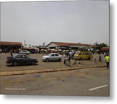 Moyamba Junction-markets Metal Print by Mudiama Kammoh