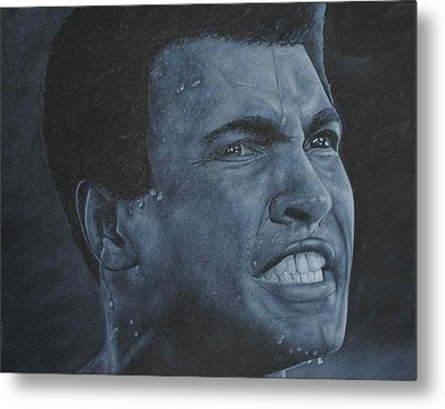 Muhammad Ali Metal Print by David Dunne