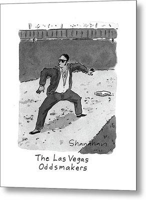 New Yorker April 5th, 1993 Metal Print