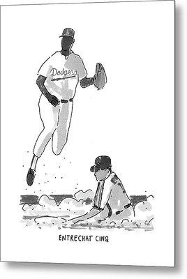 New Yorker July 19th, 1993 Metal Print
