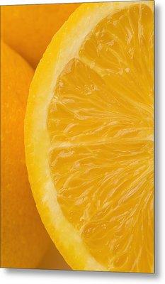 Oranges Metal Print by Darren Greenwood