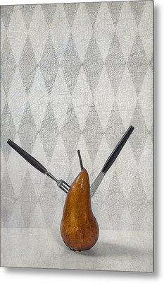Pear Metal Print by Joana Kruse