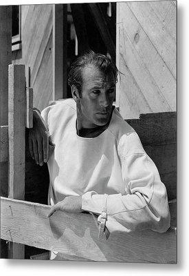 Portrait Of Gary Cooper Metal Print by George Hoyningen-Huene
