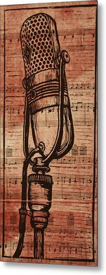 Rca 77 On Music Metal Print by William Cauthern