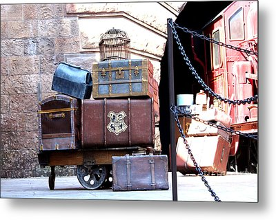 Ready For Hogwarts Metal Print by Shelley Overton