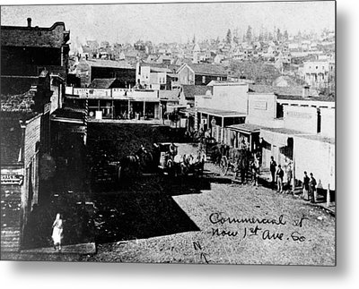 Metal Print featuring the photograph Seattle, Washington, 1880s by Granger