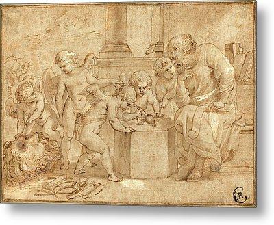 Sir Peter Paul Rubens, Flemish 1577-1640 Metal Print