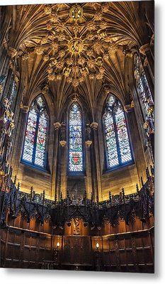 St.giles Cathedral Metal Print by Svetlana Sewell