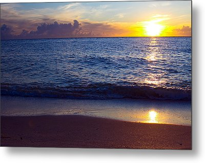 Sunset Over Boca Grande  Florida Metal Print by Fizzy Image