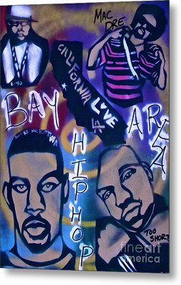 The Bay Area Metal Print by Tony B Conscious