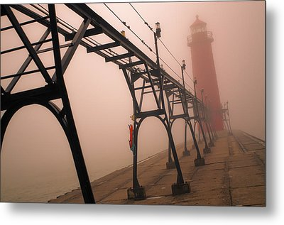 The Lighthouse Metal Print by Jason Naudi Photography