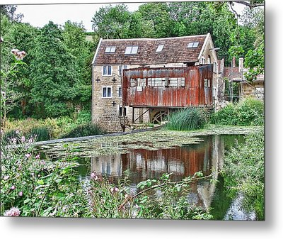 The Old Mill Avoncliff Metal Print by Paul Gulliver