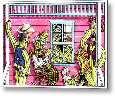 The Same Old Story  Metal Print by Cristophers Dream Artistry