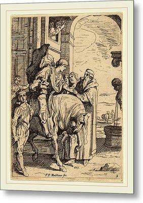 Theodoor Van Thulden After Sir Peter Paul Rubens Flemish Metal Print