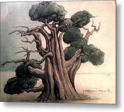 Tree Metal Print by Justin Moranville