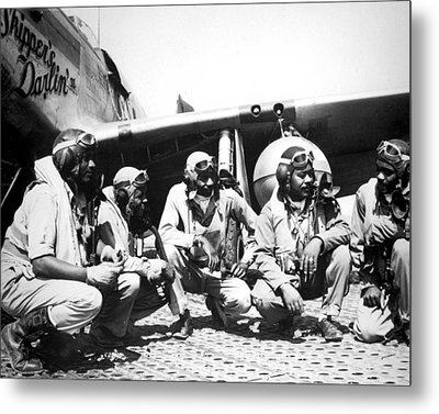 Tuskegee Airmen Metal Print by Retro Images Archive