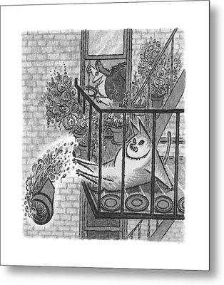 New Yorker June 5th, 2000 Metal Print by Arnold Roth