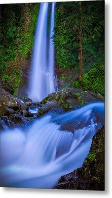 Waterfall - Bali Metal Print by Matthew Onheiber