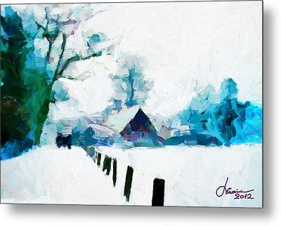 Winter Tales Tnm Metal Print by Vincent DiNovici