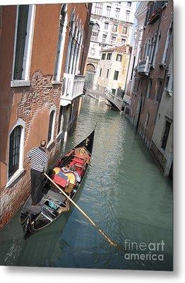 Gondola. Venice Metal Print by Bernard Jaubert