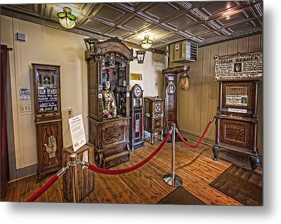 10 Million Dollar Fortune Teller Penny Arcade Game C. 1900 Metal Print by Daniel Hagerman