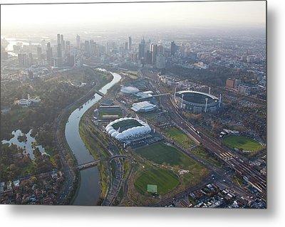 Aerial Views Of Australia Metal Print