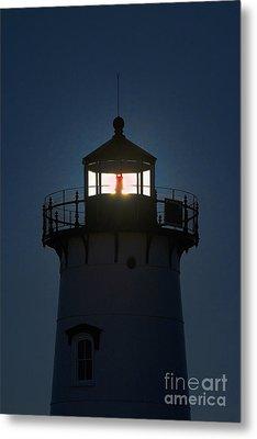 Edgartown Lighthouse Metal Print by John Greim