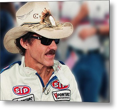Richard Petty Metal Print by Retro Images Archive
