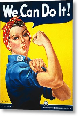Vintage Posters Metal Print by Classic