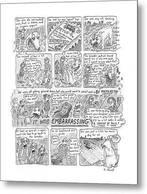 New Yorker November 12th, 2001 Metal Print