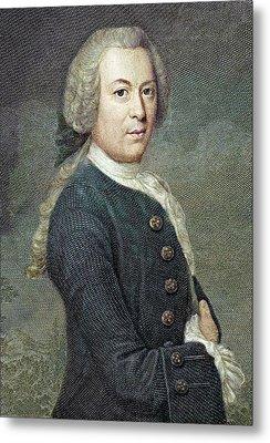 1759 Rosel Von Rosenhof Colour Portrait Metal Print