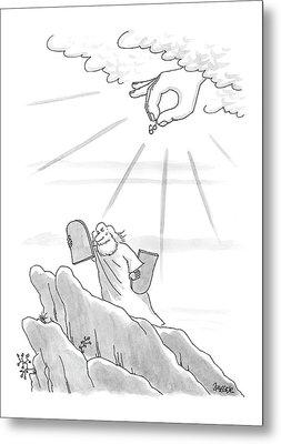 New Yorker September 4th, 2000 Metal Print by Jack Ziegler