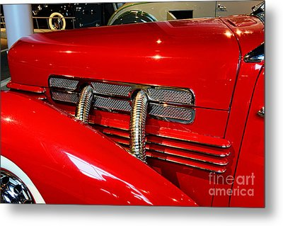 1937 Cord 812 Supercharged Phaeton Metal Print by Paul Ward