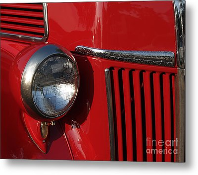 1941 Ford Flatbed Classic Metal Print by Anna Lisa Yoder