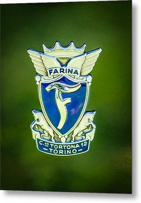 1953 Siata Daina Farina Emblem Metal Print