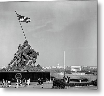 1960s Marine Corps Monument Metal Print