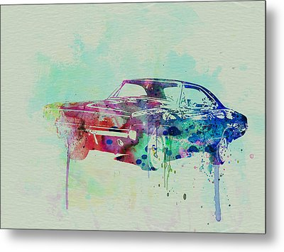 1967 Dodge Charger  2 Metal Print by Naxart Studio