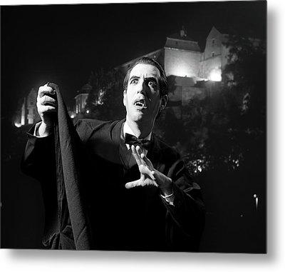 1970s Halloween Nighttime Portrait Metal Print