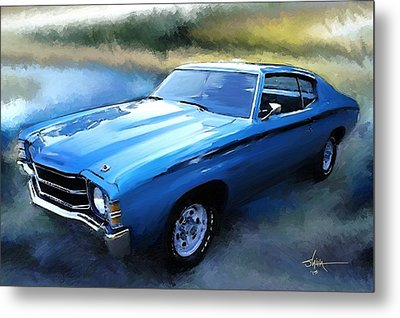 1971 Chevy Chevelle Metal Print by Robert Smith
