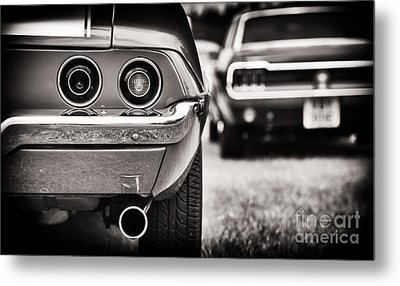 1972 Camaro Metal Print by Tim Gainey