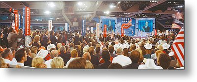 1996 Republican National Convention Metal Print by Panoramic Images