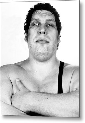 Andre The Giant Metal Print by Retro Images Archive